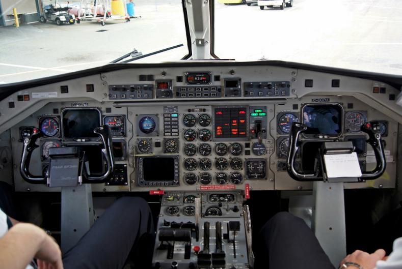 SAAB340 cockpit